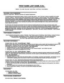 Nhs Director Sle Resume by Regional Sales Manager Resume Template Premium Resume Sles Exle