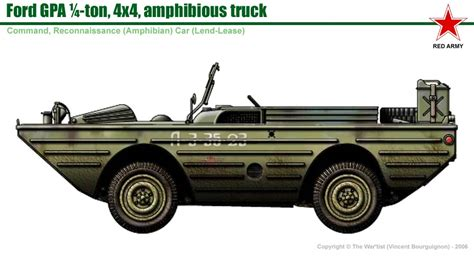 hibious truck 1943 ford gpa seep jeep collection autos post