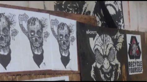 portland  street art   slap stickers wheat