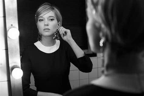 lea seydoux pixie cut lea seydoux portrayed by eric guillemain for nowness