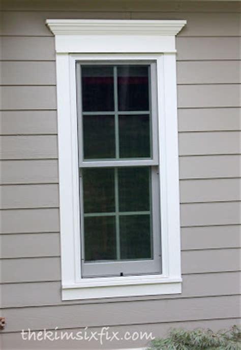 Exterior Door And Window Trim How To Use Trim To Update Exterior Doors And Windows The Six Fix