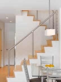 Contemporary Banister Rails Stair Railings My Domesticated Bliss
