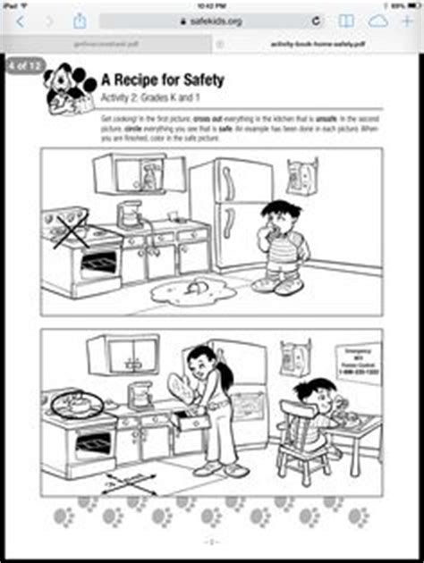 home safety lesson plan on