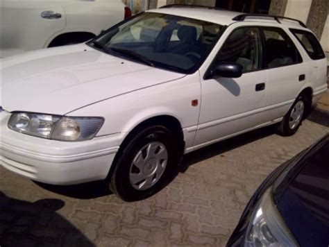 Toyota Camry Station Wagon 2002 Toyota Camry Station Wagon 2002 White Color For Sale