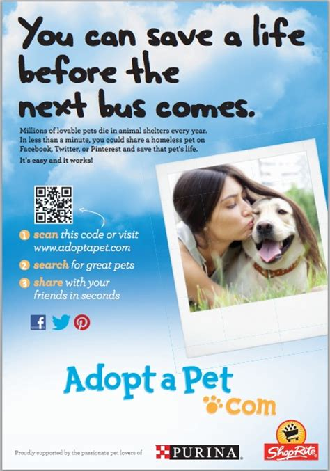 adoptapet dogs adopt a pet launches philadelphia billboard caign 187 adoptapet