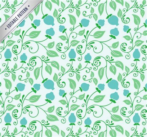 floral pattern in blue 20 green floral patterns photoshop patterns freecreatives