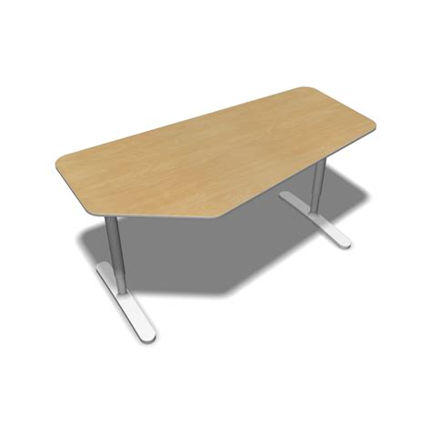 Decorate Room Online bekant table top 160 x 80 underframe birch veneer