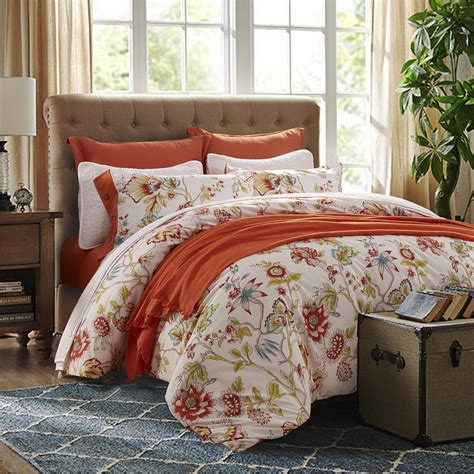 King Size Bedding Set 6 6 Colors Reactive Printing Flower Bedding Set 4pcs Cotton Bed Linen King Size Quilt Duvet