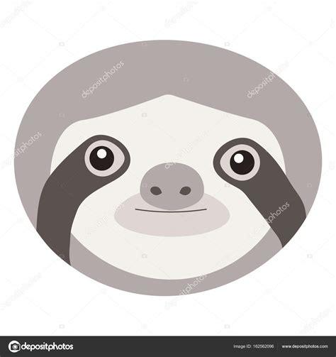 sloth mask template printable oso perezoso vector plano ico archivo im 225 genes