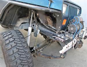 currie enterprises jeep yj front antirock sway bar kit