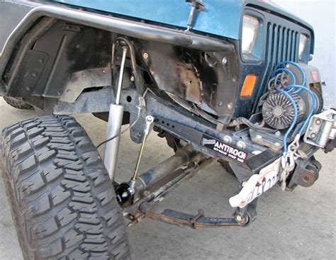 Jeep Sway Bar Currie Enterprises Jeep Yj Front Antirock Sway Bar Kit