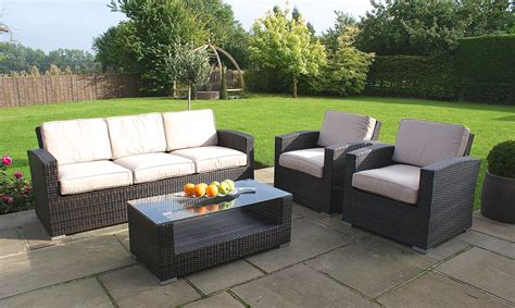 3 seater rattan sofa rattan sofa sets for your garden fishpools