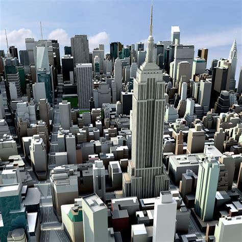 City 3d Model Free