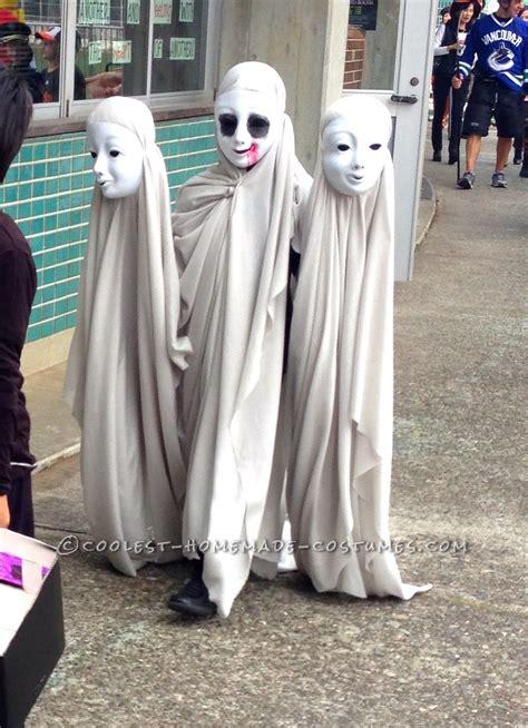 Dress Mesya Biru creepy ghosts illusion costume creepy ghost