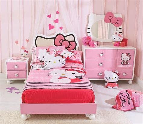 desain lemari hello kity model tempat tidur hello kitty untuk buah hati anda