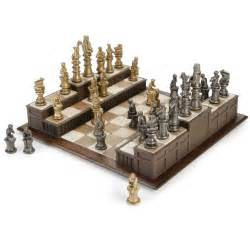 Cool Chess Pieces 10 Cool Chess Sets Inspired From Movies And Games