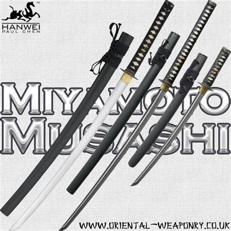 miyamoto musashi samurai swords 187 forged samurai