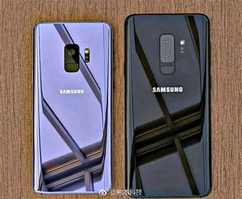 Samsung S9 samsung galaxy s9 and galaxy s9 reportedly revealed in on image