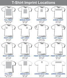 graphic placement for youth t shirt google search | tips