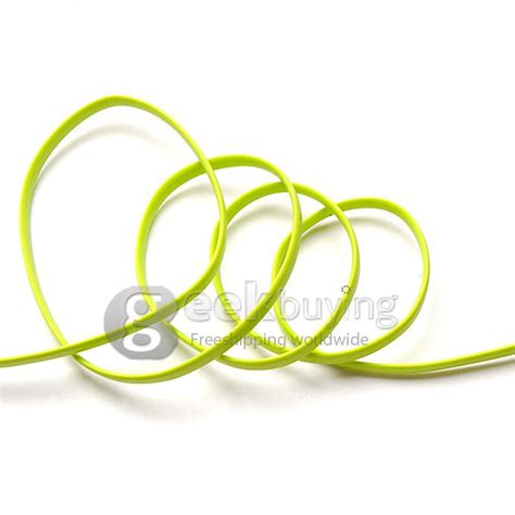 Cable Data 3 In 1 Green lention halo series 2 in 1 data cable 3 3ft 2m green