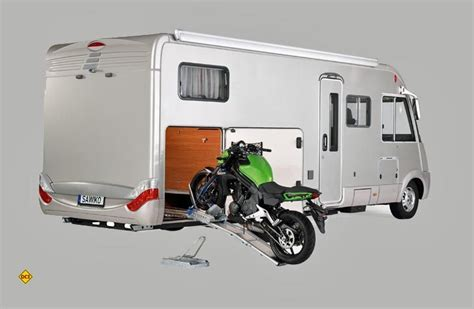 Motorrad Transport Im Wohnmobil by Der Bock Muss Mit Motorradtransport Im Reisemobil
