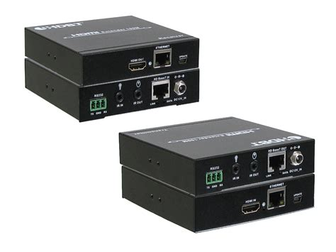 Saintholly Hdbaset Extender Cat5e 6 Support Poe 4k2k hdmi hdbaset poh poe cat5e 6 extender kit 330ft 2 way ir rs 232 ani 5play