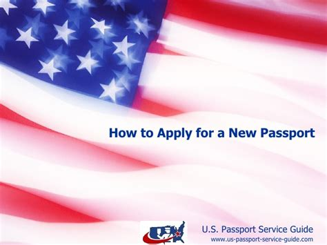 how to apply for a service how to apply for a new passport