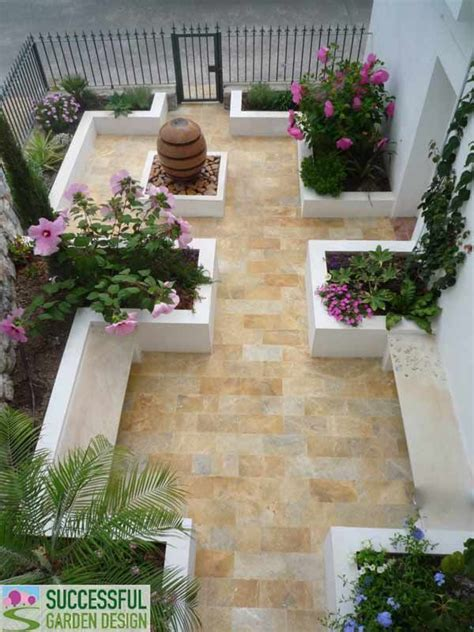 spanish courtyard designs spanish courtyard garden via successful garden design blog