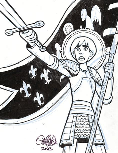 a simple rebellion books sketchbook joan of arc gene luen yang