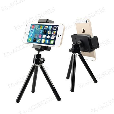 mini tripod stand holder mount for mobile apple iphone 7 6s 6 samsung ebay
