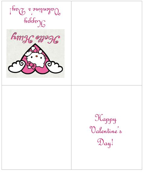Hello Valentines Day Cards Printable