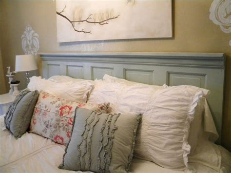 diy old door headboard make your own headboard ideas 1517
