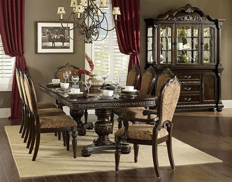 russian hill upholstery von furniture russian hill formal dining room set