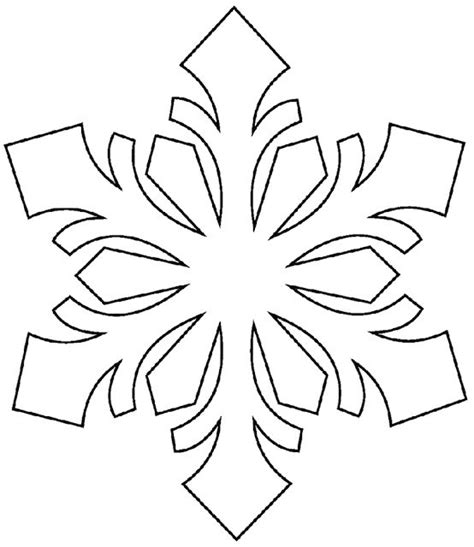 large printable snowflake templates best 25 snowflake stencil ideas on pinterest snowflake