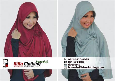 Konveksi Jilbab penjahit konveksi jilbab di surabaya riraclothing