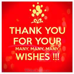best thank you for birthday wishes messages sayings text