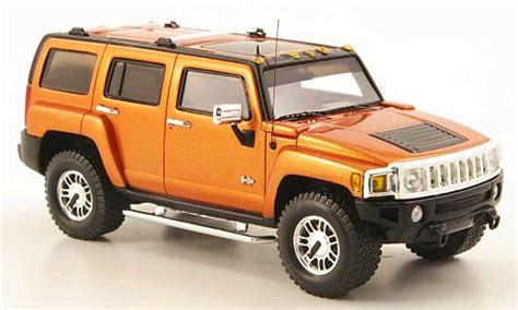 hummer h3 orange 2006 luxury collectibles diecast model