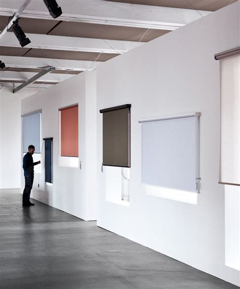 bouroullec design the bouroullec s kvadrat roller blind mechanisms work as