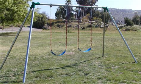 what is a swing standard 8 ft high residential swing sets