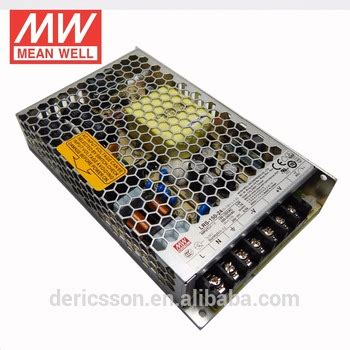 Lrs 100 24 Power Supply Meanwell Adapter Driver well economical switching power supply 150w lrs 150