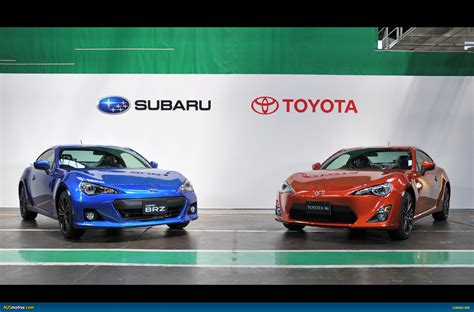 subaru brz vs scion frs vs toyota ausmotive com 187 subaru brz toyota 86 named wheels coty
