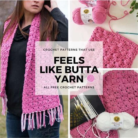 Feels Like feels like butta yarn from brand 5 free crochet