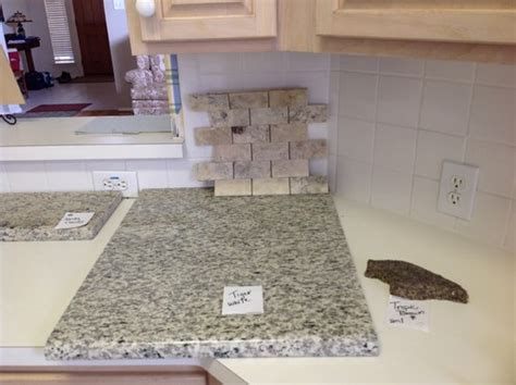 matching with tropical brown granite