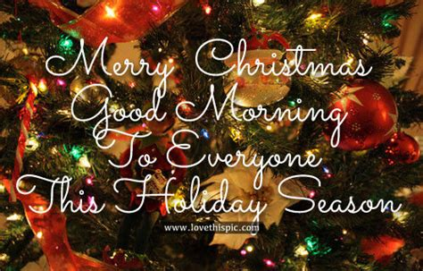 merry christmas good morning    holiday season pictures   images