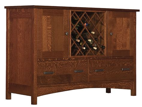 Dining Room Buffet With Wine Rack by Cove Hollow Dining Room Legends Buffet W Wine Rack