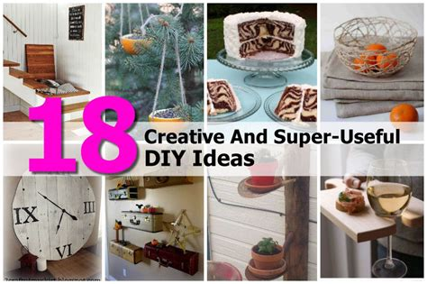 useful craft projects 18 creative and useful diy ideas