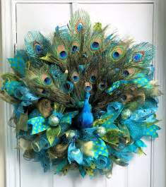 peacock decorations 17 best ideas about peacock wreath on pinterest feather wreath wreath making and mesh wreaths