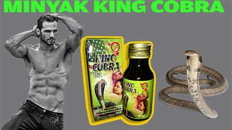 Minyak Cobra ajak of all trades king cobra minyak urut untuk besar dan panjang