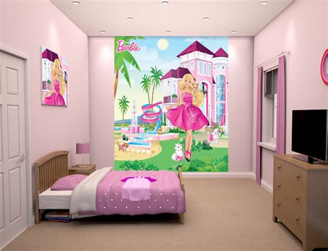 barbie wallpaper mural wall murals ireland