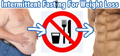 fasting weight loss lose weight lose with intermittent fasting